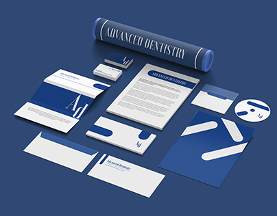 Advanced Dentistry | Branding | Boring Graphics