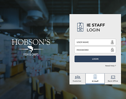 Hobson's Ipad App Design