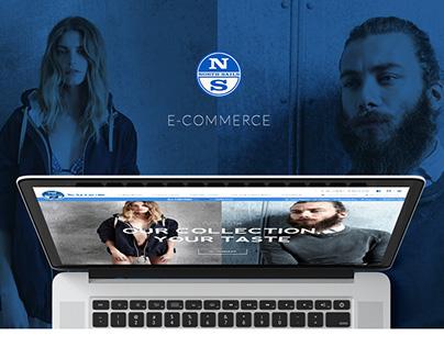North Sails // E-Commerce Design