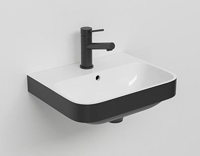 Duravit Washbasin 3D Model