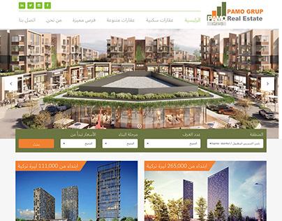Pamo Grup website