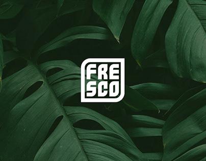Fresco: restaurant logo design