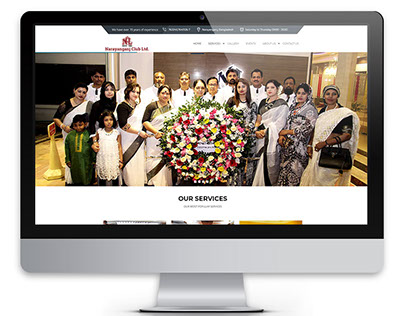 Club Website (Narayanganj Club)