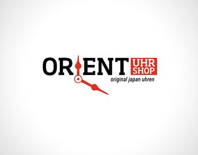 Orient uhr shop - logo design
