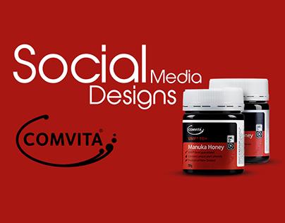Comvita Tonic - Social Media