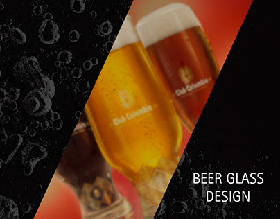 CLUB COLOMBIA BEER GLASSES