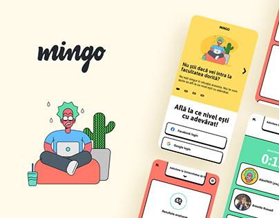 Mingo - Branding & UX/UI