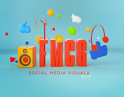 FMCG Social Media Visuals