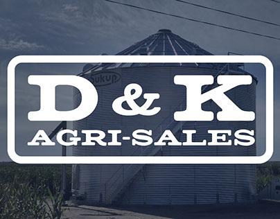 D&K Agri-Sales Logo Design