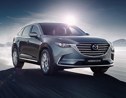 Mazda CX-9 launch campaign