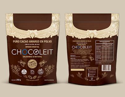 Diseño de envases para Chocoleit