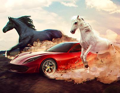 Ferrari Portofino Poster (fan)