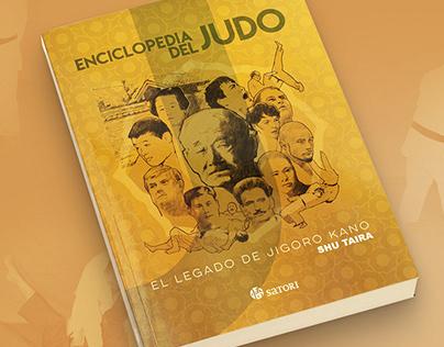 Diseño de «Enciclopedia del Judo»