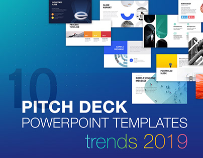 Free Powerpoint Presentation Templates On Behance