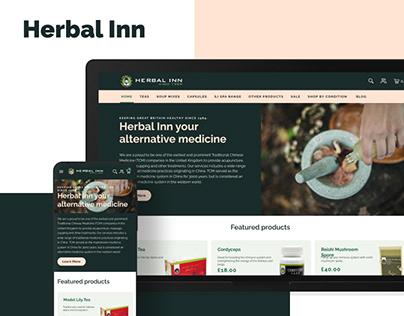HERBAL INN | Web design
