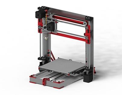 Modeling 3-D Printer SolidWorks