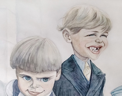 Kids from the 1920's