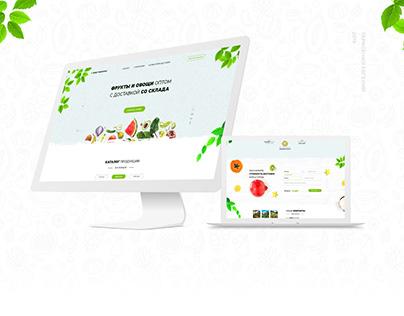 Фрукты и овощи с доставкой