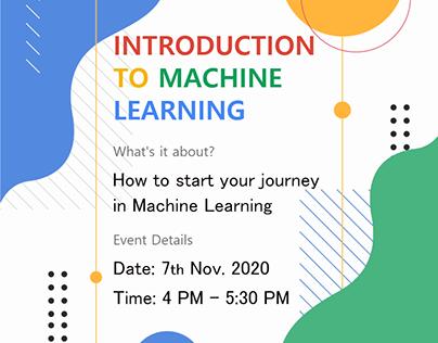 Introduction to machine learning | DSC IIIT-Delhi