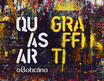 Quasar Graffiti - O Boticário