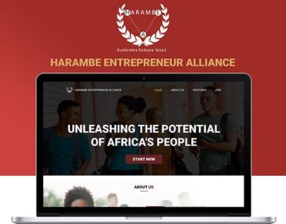 Harambe Entrepreneurship Alliance Redesign