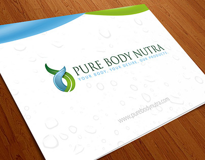 Brochure Design | Pure Body Nutra Products