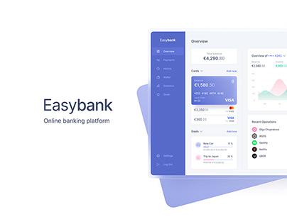 Easybank — Online Banking Interface Design