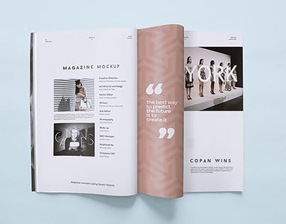 Magazine Mockup Templates