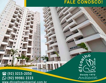 Flyer: DF Coelho - Manutenção da ETE do seu condomínio
