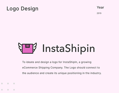 Logo Designing for Logistic Company   InstaShipIn