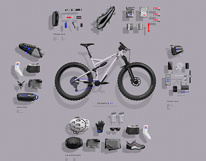 Bike Pack List - Scenario 1