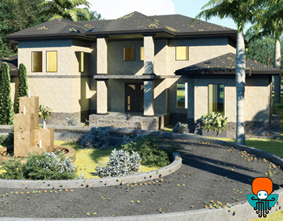 House design - Architecture in 3ds Max