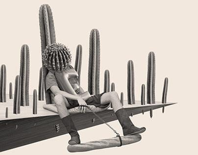 Cactus among cacti