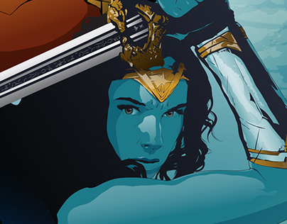 Wonder Woman | Vector alternative poster