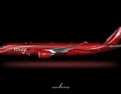 A350 Air Canada Rouge