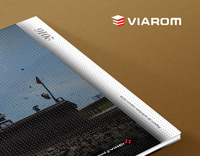 Viarom 2016 Annual Report - Brochure Design