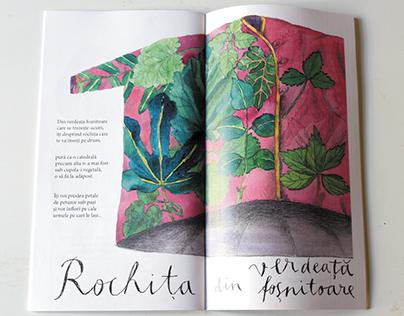 Rochitele Ioanei, poeme de Florin Bican, print, 4 ex.
