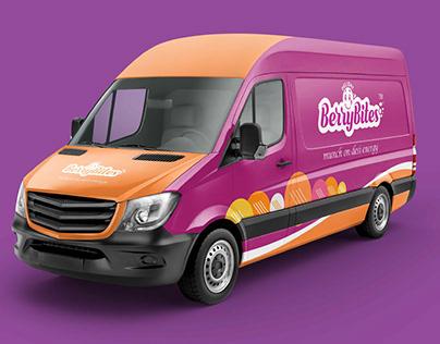 Free Branding & Packaging Design Mockup - Berrybites