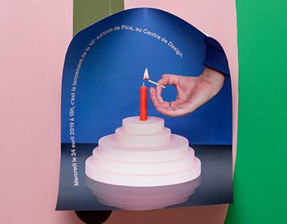 Poster - Pica 10th anniversary