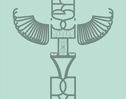 Totem typographique