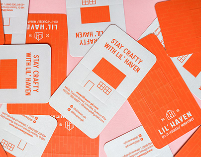 Lil' Haven: Staying Crafty With Our New Identity