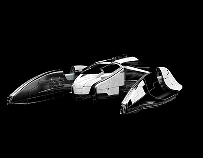 """""""Streamlined""""-spaceship class Fighter"""