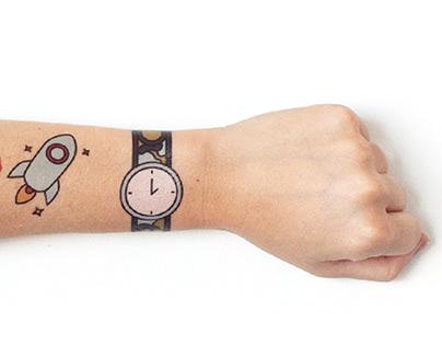 Mac & Mia Tattoo Designs