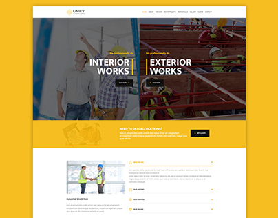 """Construction demo for """"Unify Template"""""""