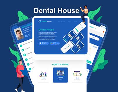 Dental House- Medical App