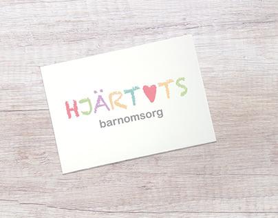 LOGO DESIGN - HJÄRTATS BARNOMSORG