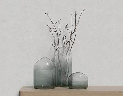 Soda Vases