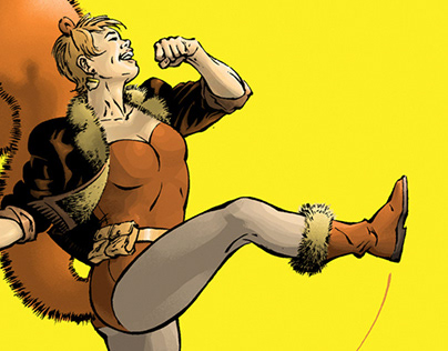 THE UNBEATABLE SQUIRREL GIRL by Rafael Romeo Magat