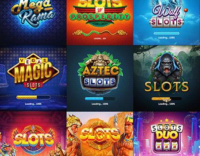 Splash and Loading Screens | Slot Machine | 2016-2019