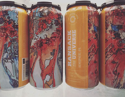 """Ransack the Universe"" Beer Can Art"